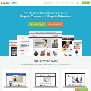 Professional Magento Themes Club, Magento Templates Club-Plaza themes