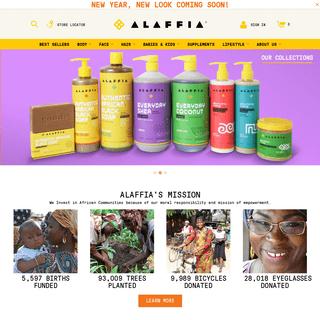 A complete backup of alaffia.com