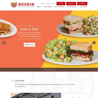 Home - Boudin Bakery