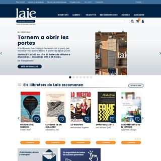 Laie Pau Claris llibreria cafè