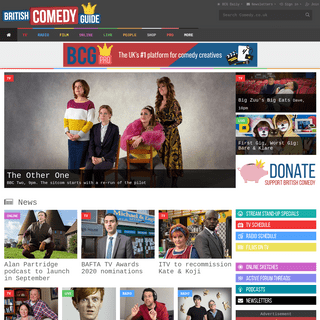 British Comedy Guide - All about UK comedy