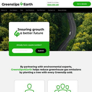 Greenslips 4 Earth - Insuring Growth 4 a better future