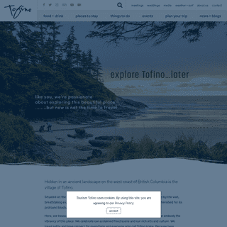 Tofino Accommodation & Activities - The Official Tourism Tofino