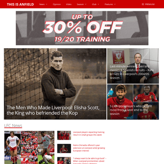 Liverpool FC - Latest news, videos & LFC tansfer rumours - This Is Anfield