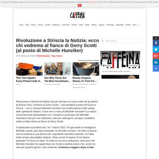 ArchiveBay.com - www.caffeinamagazine.it/televisione/415328-striscia-la-notizia-francesca-manzini-novita/ - Striscia la Notizia, la novità- Francesca Manzini al fianco di Gerry Scotti