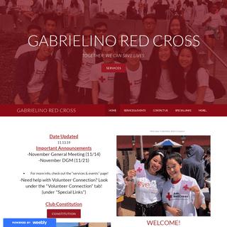 Gabrielino Red Cross - Home