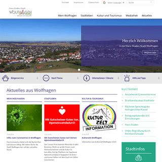 Stadt Wolfhagen - Startseite