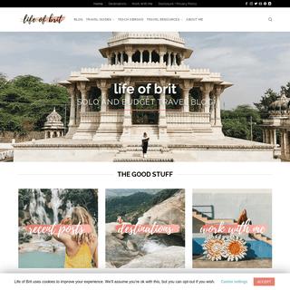 ArchiveBay.com - lifeofbrit.com - Solo and Budget Travel Blog - life of brit