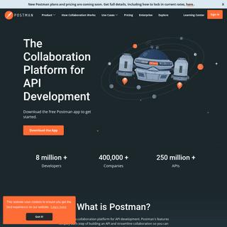 Postman - The Collaboration Platform for API Development