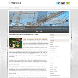 Prednisone - Forum Yang Memberikan Informasi dan Tips Seputar Poker Online