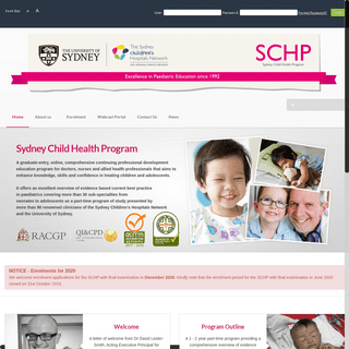 Home· Sydney Child Health Program
