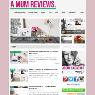 A Mum Reviews - An honest blog about all things mum, baby, kids, home & life.