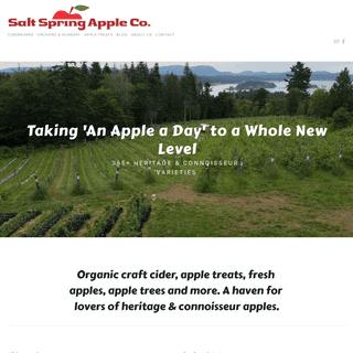 Salt Spring Apple Company Ltd