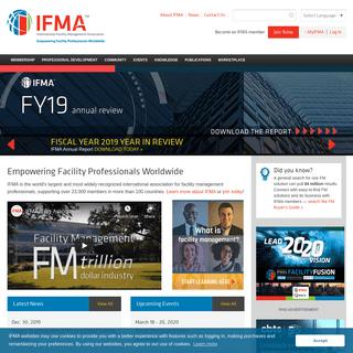 IFMA - International Facility Management Association - Professional Association for Facility Managers
