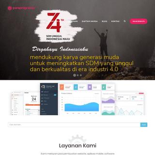 PARAPROGRAMER - Jasa Pembuatan Website dan Aplikasi