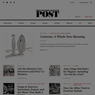 The Saturday Evening Post - Home of The Saturday Evening Post