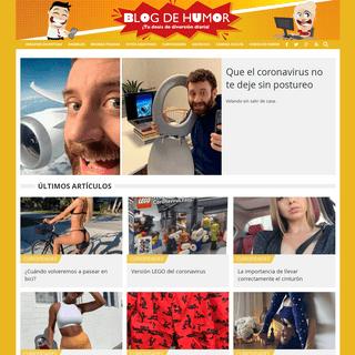 Blog de Humor - Tu dosis de diversión diaria