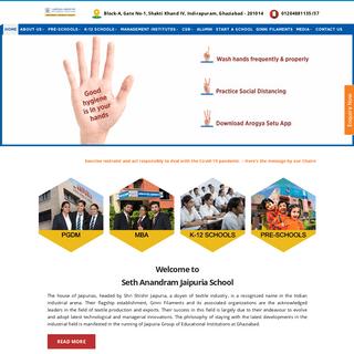 Jaipuria Group of Educational Institutions - MBA, PGDM, Jaipuria Schools -