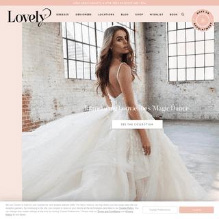 Modern + New Wedding Dresses in the Coolest Bridal Shops - Lovely Bride