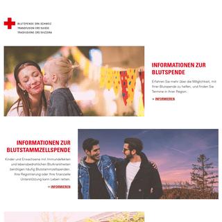 Blutspende SRK Schweiz - blutspende.ch