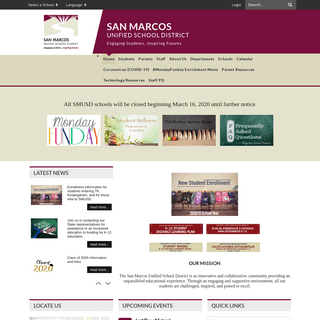 Home - San Marcos Unified