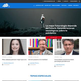Inicio - Centro de Estudios Públicos