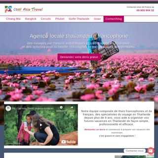 Agence de voyage locale en Thaïlande - Cool Asia Travel