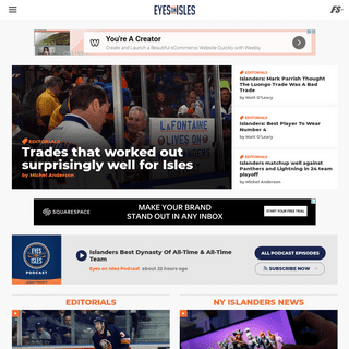 Eyes On Isles - A New York Islanders Fan Site - News, Blogs, Opinion and More