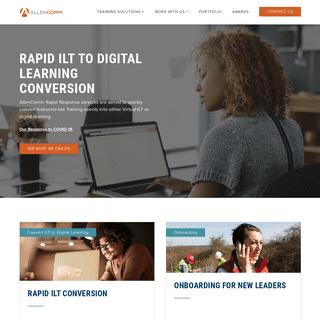 ArchiveBay.com - allencomm.com - Corporate Training & eLearning Company - AllenComm