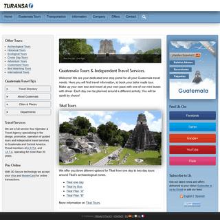 Guatemala Tours & Travel Services - Turansa