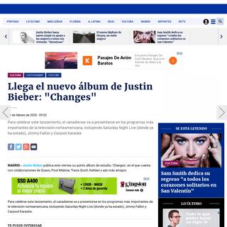 Llega el nuevo álbum de Justin Bieber- Changes - Justin Bieber, YouTube