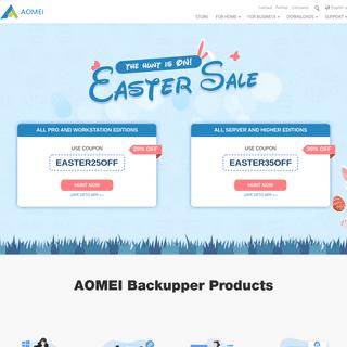 Best Windows Backup and Restore Software - AOMEI Backupper
