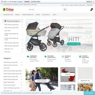 Dino Sklep, wózki dziecięce - foteliki samochodowe - meble dla dzieci