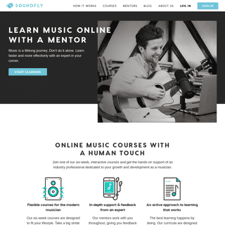 Soundfly - A New Kind of Online Music School - Find Your Sound