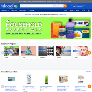 Fishpond.com - Shop Online with Free Delivery on 10 million Books, DVDs, Toys & More Worldwide
