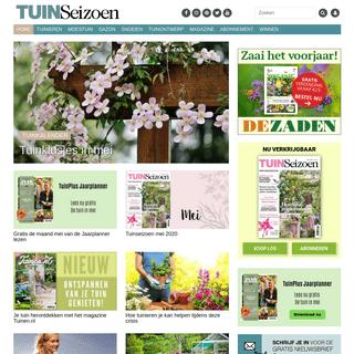 Tuinseizoen.com - Alles over tuinieren - Tuintips - Tuinontwerp - Snoeien - Gazon -