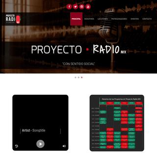 Proyecto•RADIOMX