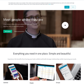 A complete backup of churchdesk.com