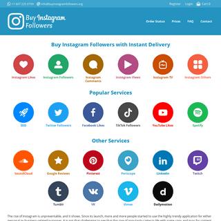 Buy Instagram Followers - 100- Real Followers - BIF