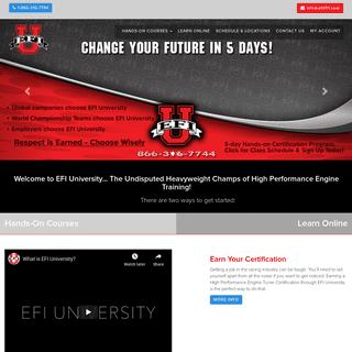 Home - EFI University