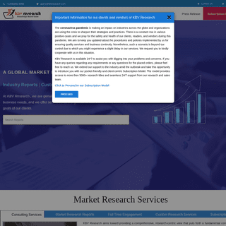 Market Research & Consulting Company - KBV Research