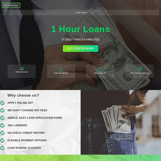 1 Hour Loans – Payday loans in Australia