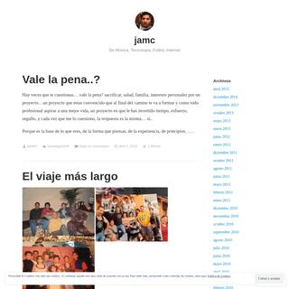jamc – De Música, Tecnología, Futbol, Internet