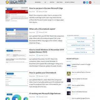Tech Help Knowledgebase