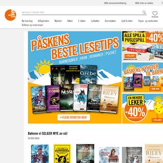 ARK Bokhandel - Bøker på nett - Nettbokhandel