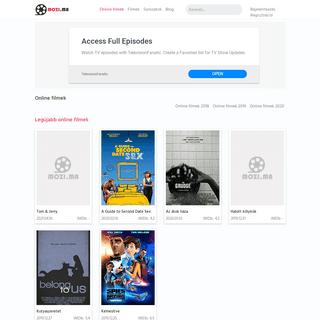 Online filmek -Teljes filmek, sorozatok magyarul!