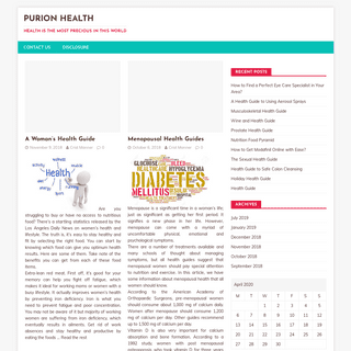 Purion Health – health is the most precious in this world