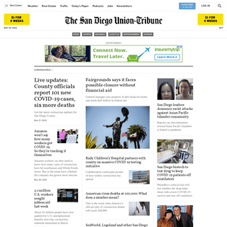 The San Diego Union-Tribune - San Diego, California & National News