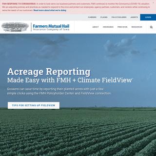 ArchiveBay.com - fmh.com - Farmers Mutual Hail - America's Crop Insurance Company