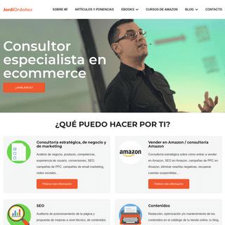 Consultor ecommerce - Jordi Ordóñez